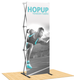 Hopup 2.5ft Popup Display (Straight)