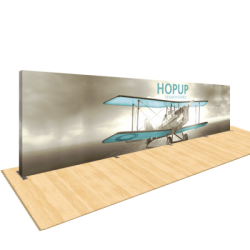 Hopup 30ft Popup Display With Endcap (Straight)