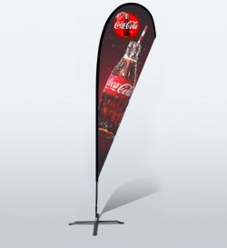 15ft Custom Teardrop Flag (Extra Large)