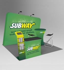 10ft tradeshow booths