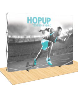 Hopup 10ft Popup Display ( Straight )