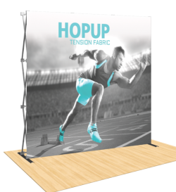 Hopup 8ft Popup Display ( Straight )