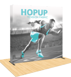 Hopup 8ft Popup Display With Endcap ( Straight )