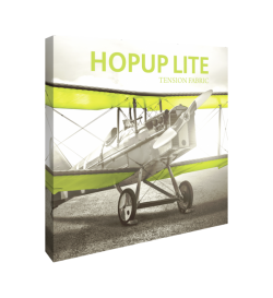 Hopup Lite 8ft Popup Display With Endcap (Straight)