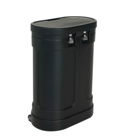 WC-401 Heavy Duty Wheeled Case (Oval)