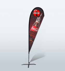 12ft Custom Teardrop Flag (Large)