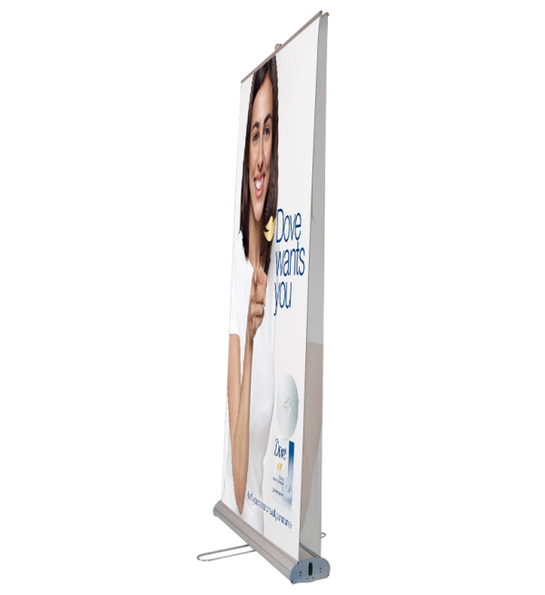 Double Sided Rectangle Banner Stand
